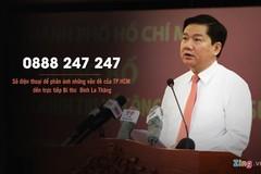 Số hotline của Bí thư Đinh La Thăng là cố định hay di động?