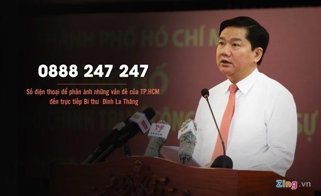 đường dây nóng, hotline, Đinh La Thăng, thuê bao, cố định, di động,