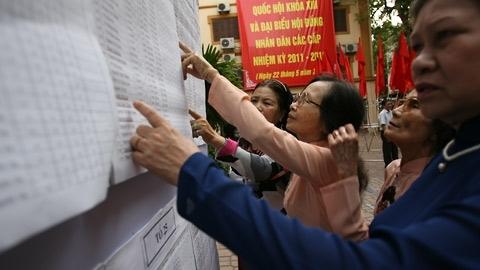 Hà Nội nhận hồ sơ ứng cử ĐBQH, HĐND