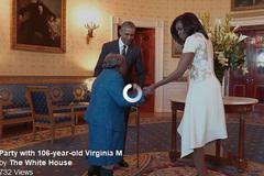 Cụ bà 106 chia sẻ bí quyết sống lâu tại Nhà Trắng