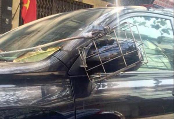 Chiêu độ gương ô tô khiến siêu trộm cũng bó tay