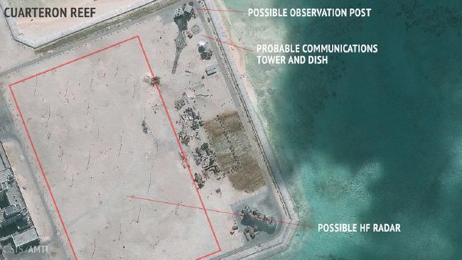Ảnh vệ tinh mới nhất vạch mưu toan TQ ở Biển Đông