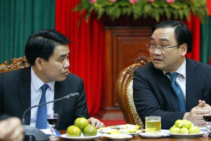 Bí thư Thành ủy Hà Nội Hoàng Trung Hải, nhũng nhiễu, tiêu cực, Hà Nội, chủ tịch hà nội nguyễn đức chung