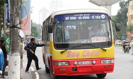 Hà Nội 'phủ sóng' xe buýt đến các huyện ngoại thành