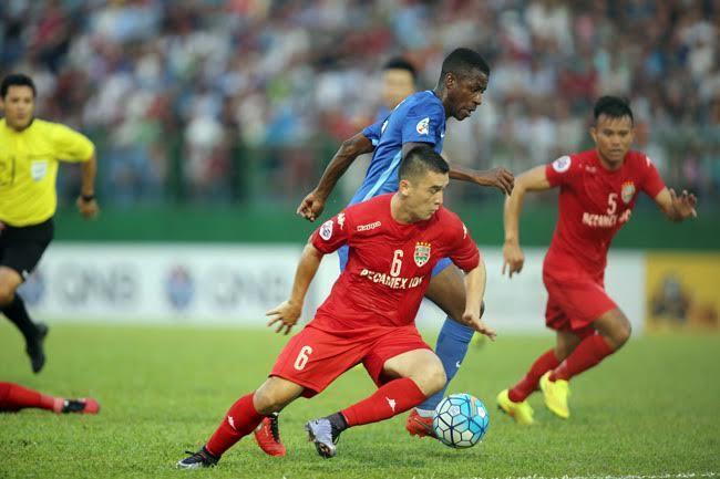 Bình Dương, Afc champions league, Giang tô, anh đức, công vinh