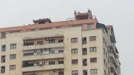 Chùa mọc trên nóc chung cư 30 tầng ở Thủ đô