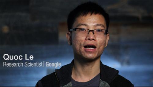 Google Brain, bộ phận Google X, Quốc Lê, trí tuệ nhân tạo
