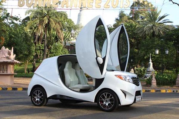 ô tô điện, lùng mua, rẻ hơn xe máy, trung quốc, thị trường, ấn độ, gọn nhẹ