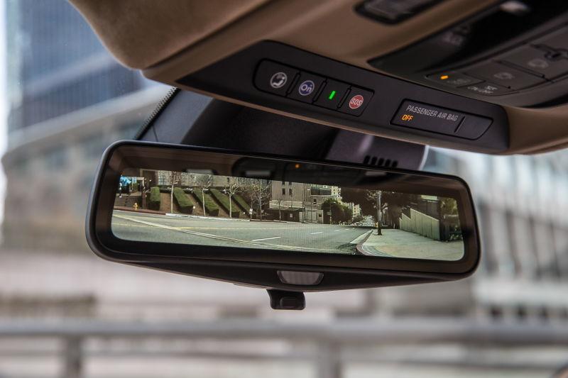 Khám phá gương chiếu hậu kiểu mới kèm camera toàn cảnh