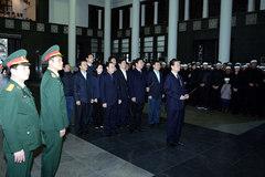 Thủ tướng viếng Thứ trưởng GTVT Phạm Quý Tiêu
