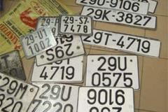 Thủ tục cấp lại biển số xe bị mất