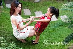 Lưu Hương Giang đang mang bầu 6 tháng?