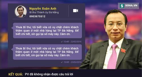 Bí thư Đà Nẵng, Nguyễn Xuân Anh, đường dây nóng