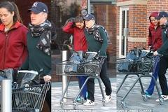 Schweinsteiger tháp tùng Ivanovic đi mua sắm