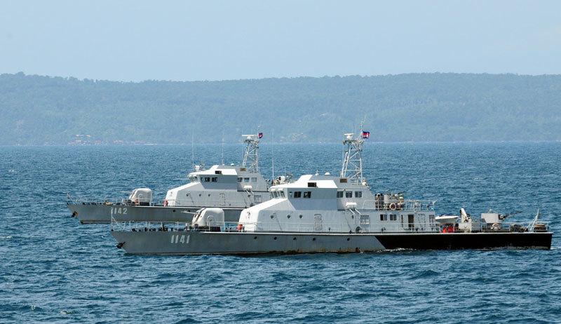 TQ, Campuchia tập trận hải quân lần đầu