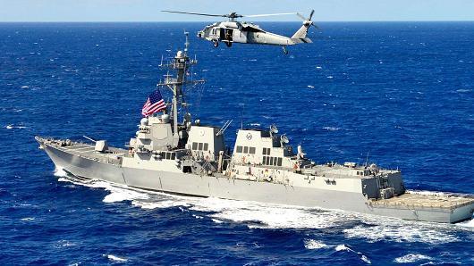 Mỹ, Biển Đông, tàu khu trục, tàu ngầm, TQ, Hoàng Sa, Trường Sa,