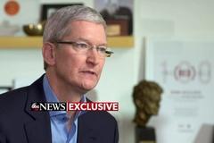 CEO Apple: 'Cửa hậu' trên iPhone như 'mầm ung thư trên phần mềm'