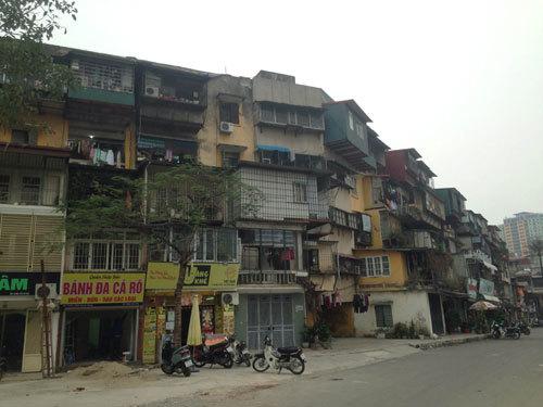 Hà Nội: Dân chưa muốn chuyển khỏi chung cư cũ