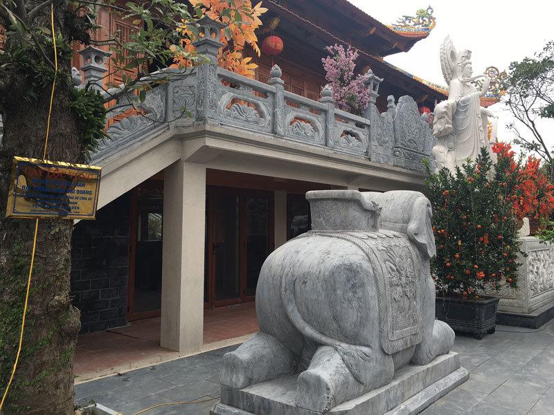 điện thờ, Việt Nam Trần Triều Điện, đại gia, đại gia Hà Tĩnh, Trần Quang Luận