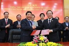 Tăng cường hợp tác giữa Bộ TT&TT với Bộ Công an