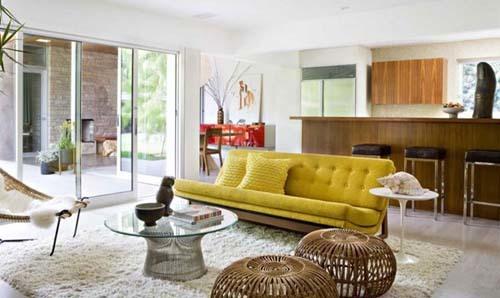 thiết kế nhà, thổi hồn quê vào nhà phố, nhà đẹp, màu sắc nghệ thuật