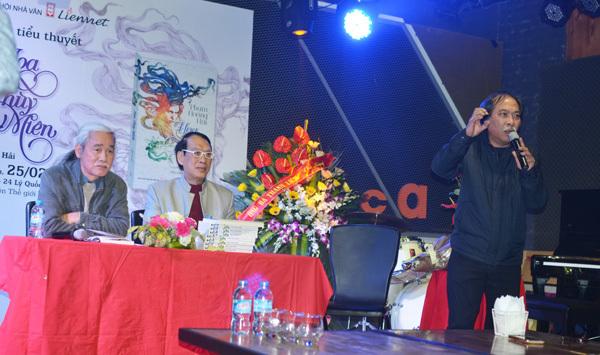 """Tiểu thuyết """"Hoa Thùy Miên',  Nguyễn Quang Thiều"""