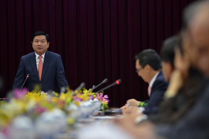 bí thư thành ủy TP.HCM, Đinh La Thăng
