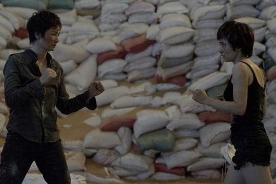 'Cô gái vàng Wushu' Thúy Hiền đi đóng phim