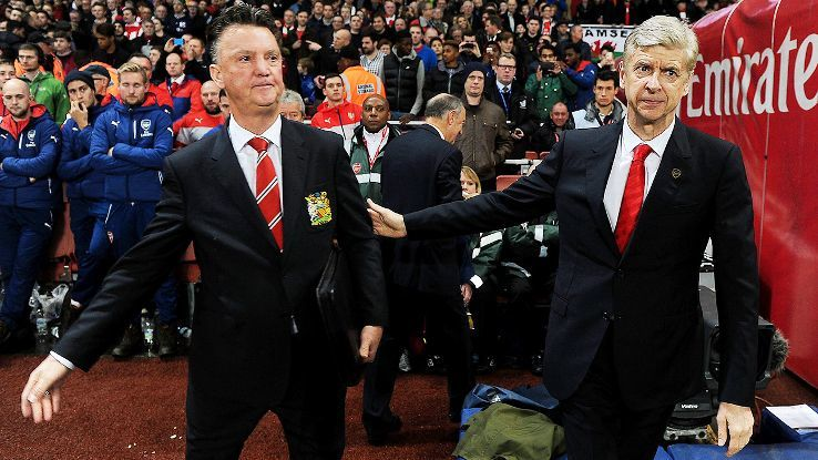 Wenger an ủi Van Gaal trước đại chiến