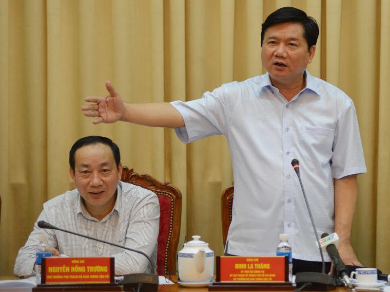 Bí thư thành ủy TP.HCM, Đinh La Thăng, ùn tắc giao thông, giảm ùn tắc