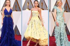 Mãn nhãn với thời trang thảm đỏ Oscar 2016