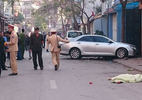 Hà Nội: Xe điên đâm loạt xe máy, 3 người chết