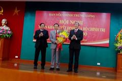 Công bố ông Phan Đình Trạc làm Trưởng Ban Nội chính TƯ