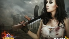 Ngắm Bà Tưng chất lừ trong bộ ảnh cosplay của Zombie War