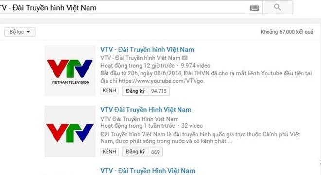 VTV lên tiếng việc kênh Youtube của Đài bị ngưng hoạt động