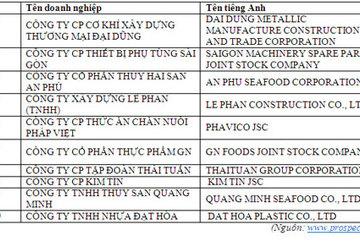 Công bố 500 DN triển vọng xuất sắc nhất Việt Nam
