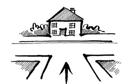 phong thủy nhà ở, kinh nghiệm mua nhà đất, mua nhà ở ngã ba đường