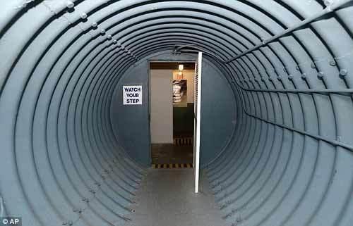 Bên trong hầm tránh bom hạt nhân của Tổng thống Mỹ
