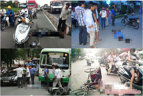 tai nạn giao thông, không cứu người bị nạn, học sinh, tình thương, giáo dục, giáo viên, chương trình phổ thông