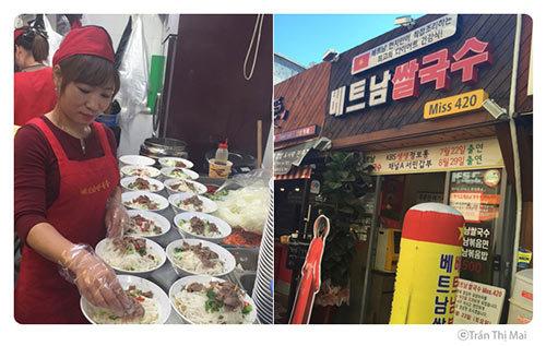 phở, tiệm phở, đại gia Hàn, cô dâu việt, 1000 bát phở