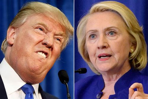 Nếu Hillary Clinton đấu với Donald Trump?