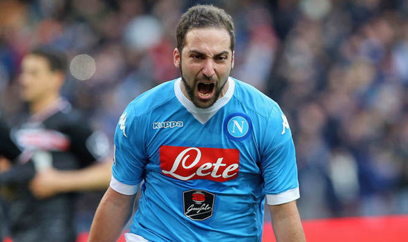 Higuain, Napoli, M.U, Mourinho, chuyển nhượng