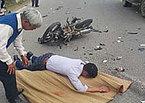 Hy hữu: Sống lại khi đã 'đắp chiếu' sau tai nạn giao thông