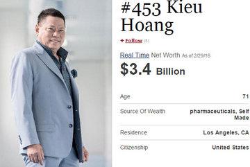 Đại gia Hoàng Kiều: Người Việt giàu nhất thế giới