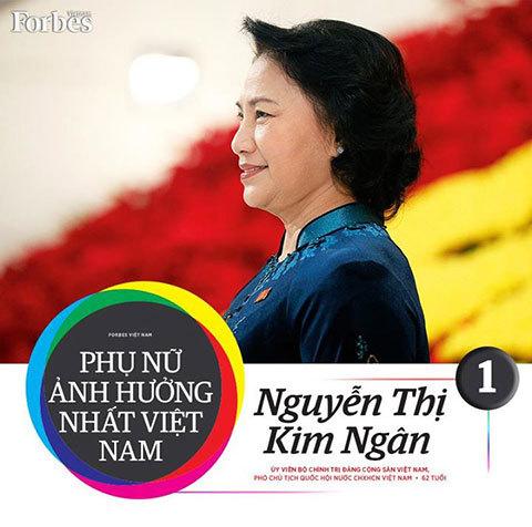 Nguyễn Thị Kim Ngân, người phụ nữ ảnh hưởng nhất VN, Phó Chủ tịch Quốc hội