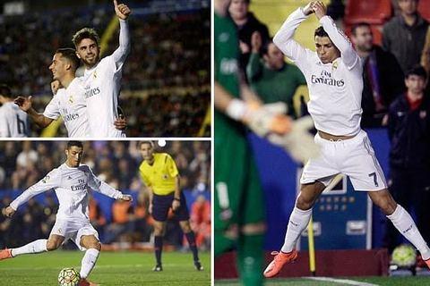 Levante 1-3 Real Madrid