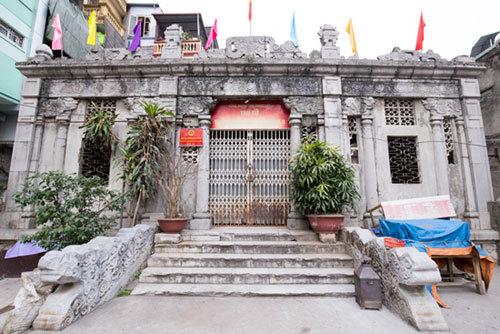 Khu lăng mộ Hoàng Cao Khải, ấp Thái Hà, lăng mộ đá, di tích quốc gia, kiến trúc