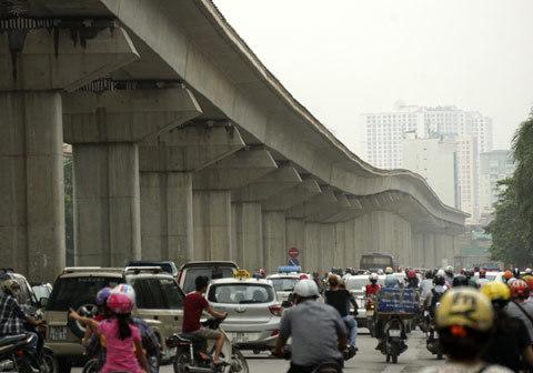 Đường sắt Cát Linh - Hà Đông: Hô quyết tâm rồi chậm tiến độ