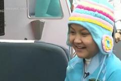 Lặng người xem điều ước của bé gái ung thư buồng trứng