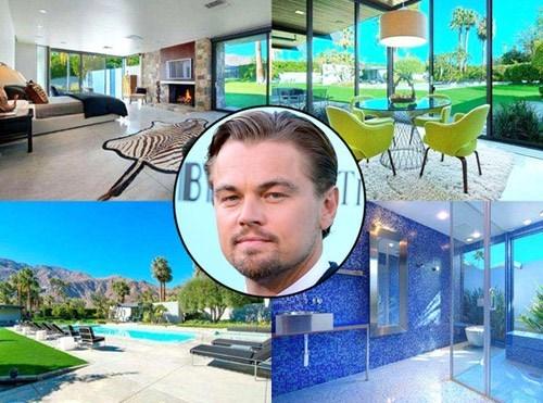Soi loạt bất động sản khủng của nam diễn viên Leonardo DiCaprio